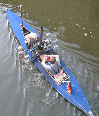 Faltbootbasteln: Dampf-Faltboot